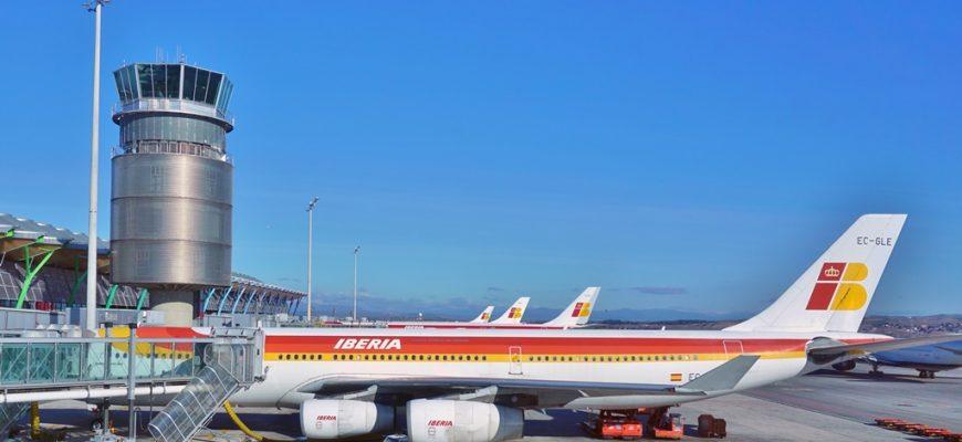 Vliegvelden in Spanje