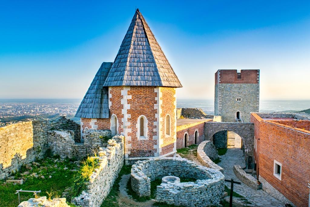 Historiska slott på Medvednica