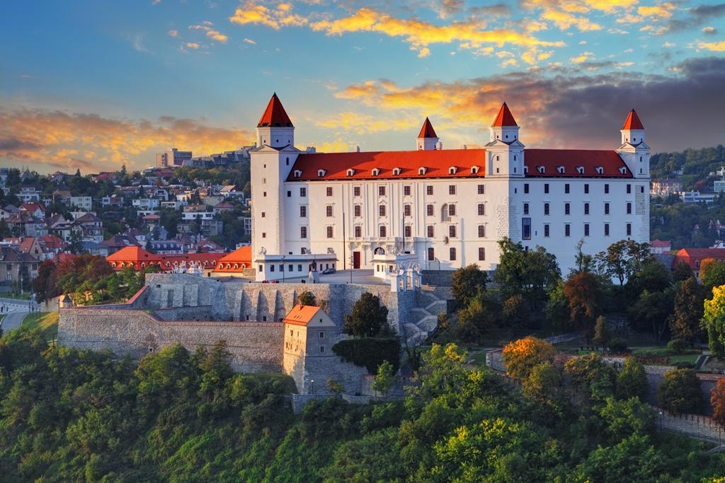 Il maestoso castello di Bratislava