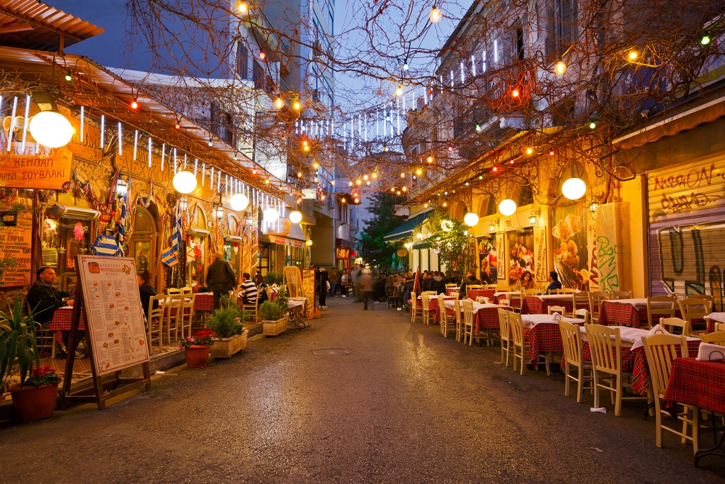 Restaurants near Psirri neighborhood