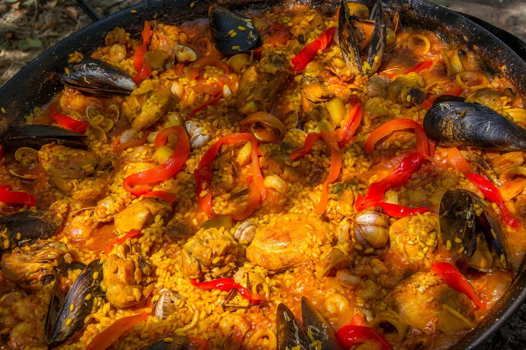 Paella - Andalusian Cuisine