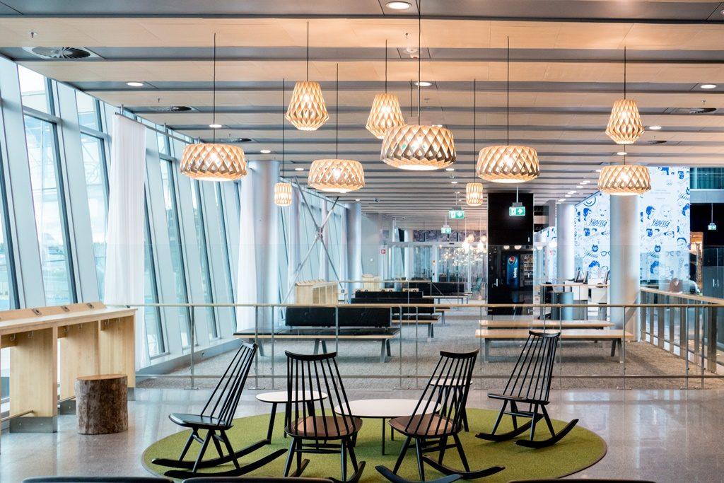 Helsinki Airport interior