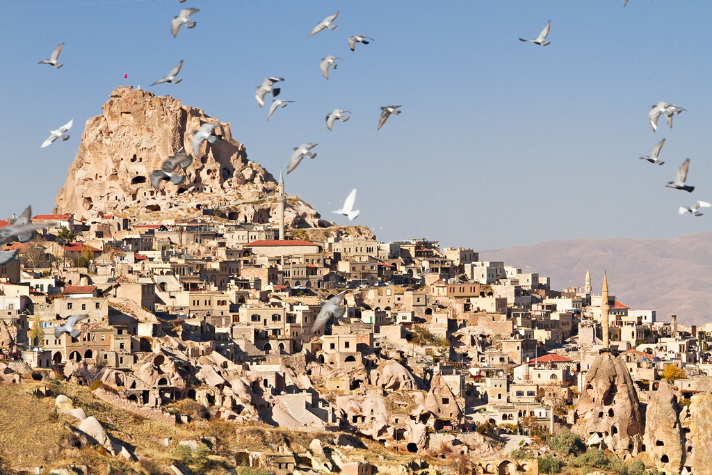 Uchisar, Kapadokija