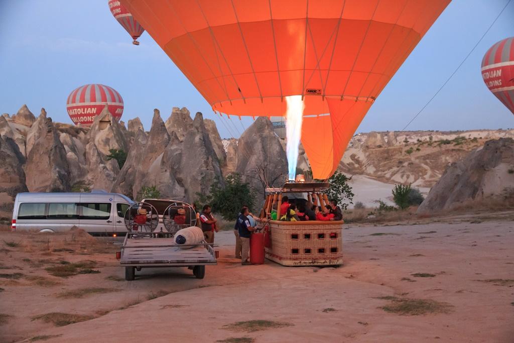 Zračni balon, Kapadokija