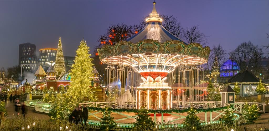 Tivoli Gardens - Christmas Setting