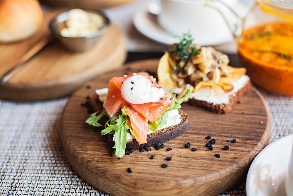 Danska Smorrebrod - smörgås