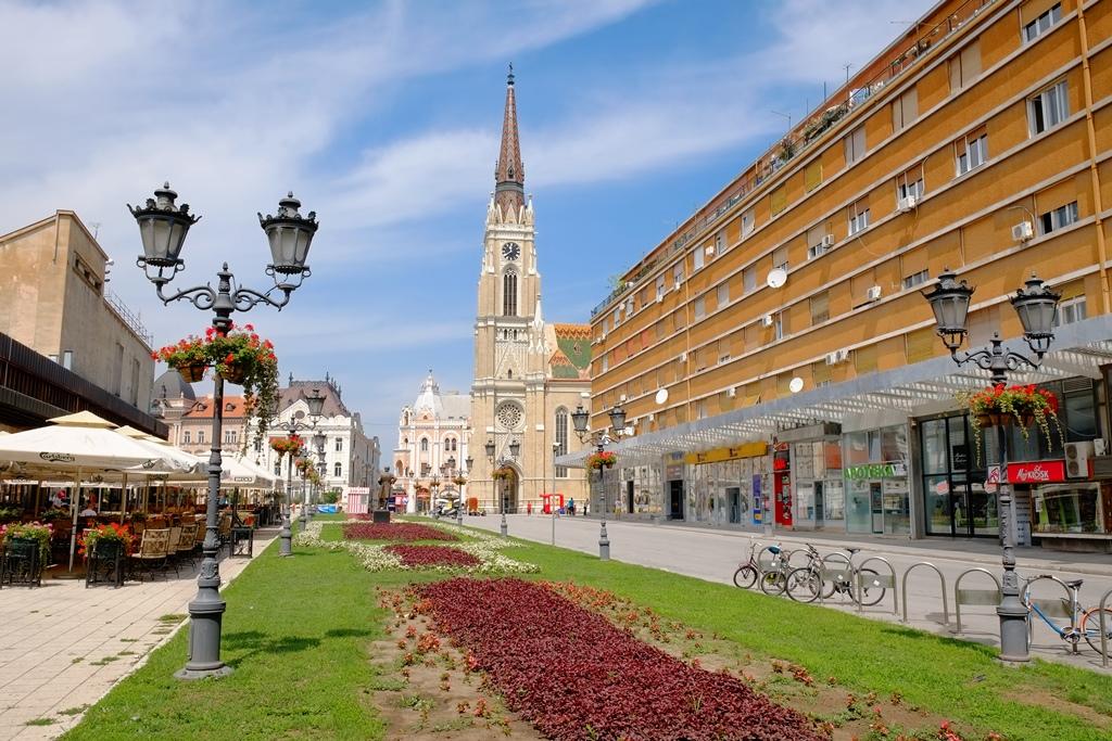Novi Sad vanuit Belgrado