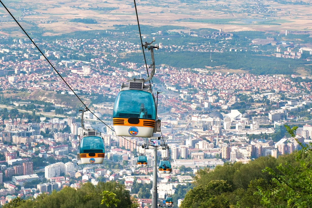 Bezoek aan Skopje