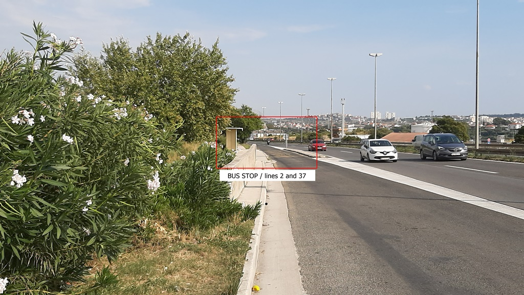 Autobusová zastávka Solin