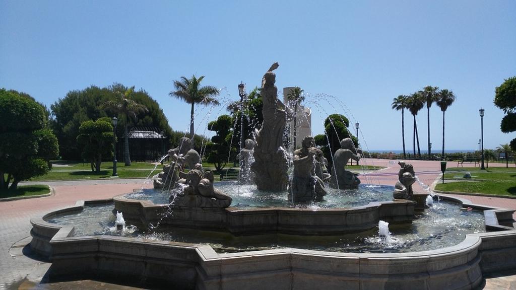 Parque fontän
