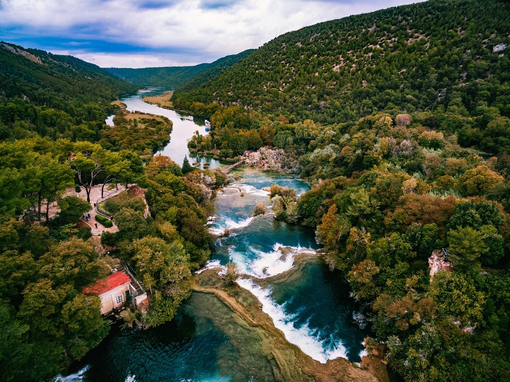Croatia sights: Krka Waterfalls