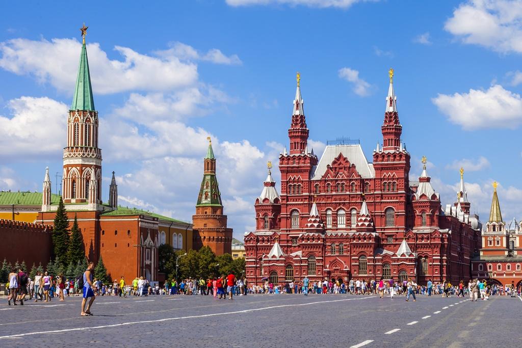 Moskva - Rudé náměstí