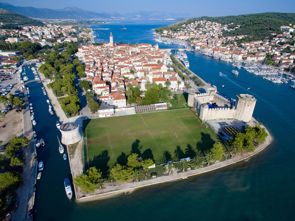Trogir Old Town and Kamerlengo Fortress