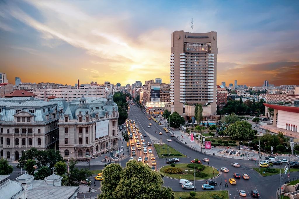 Bucharest, the capital city of Romania