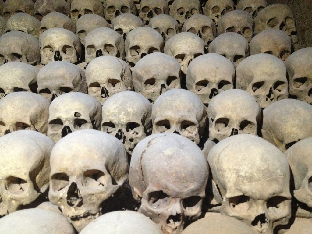 Ossuary in Brno