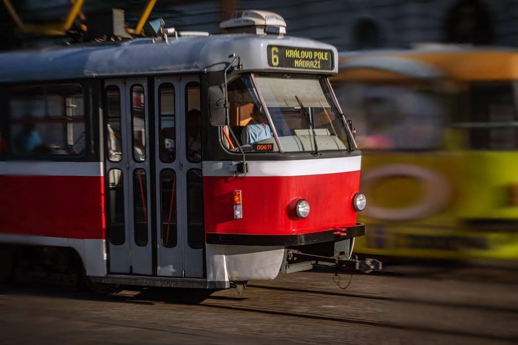 Tram in Brno