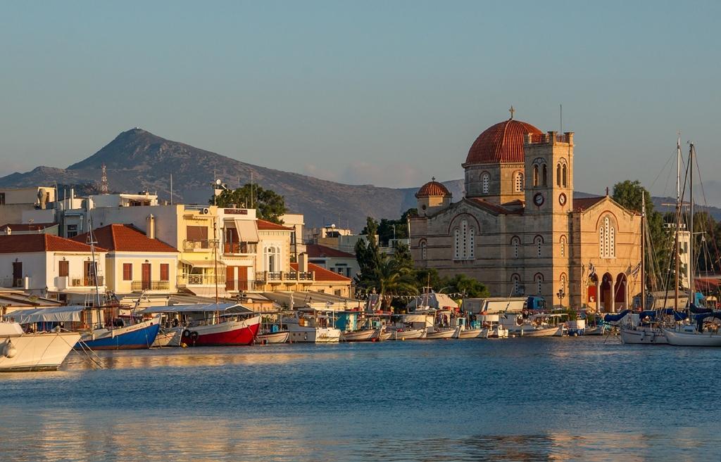 Widok na Aeginę