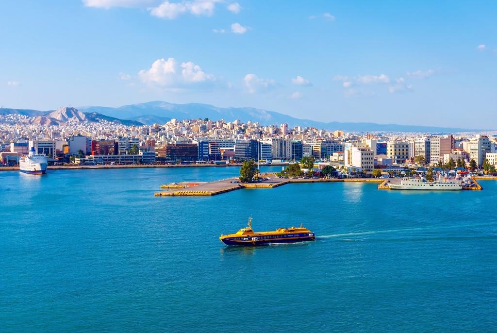 Wybrzeże w Atenach
