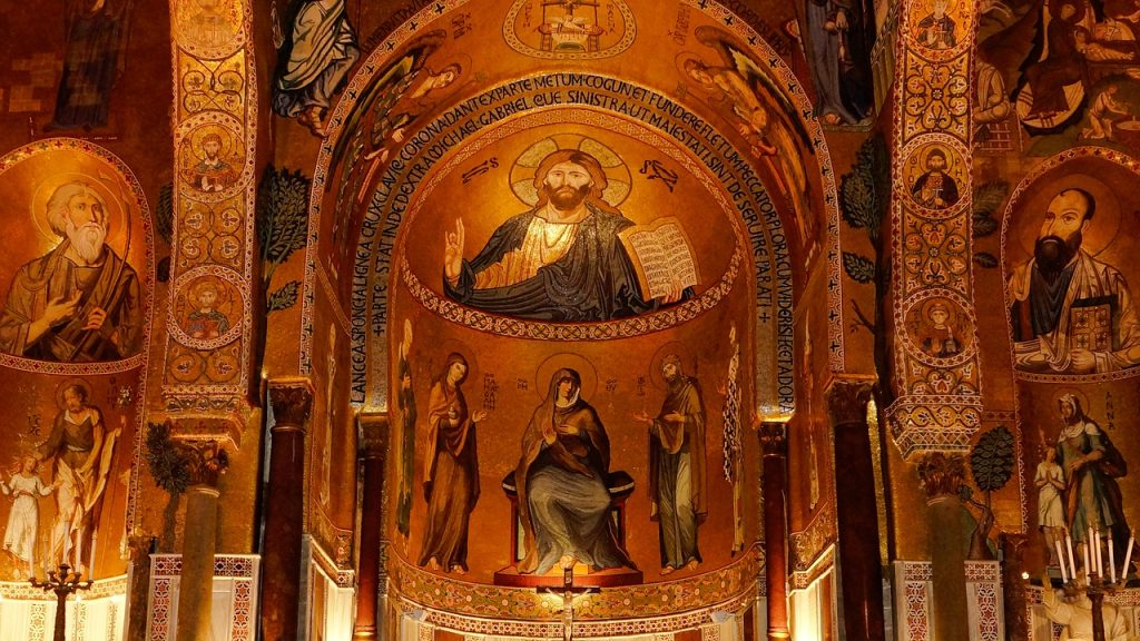 The Palatine Chapel in the Norman Palace