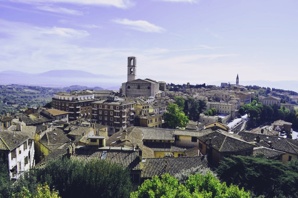 Perugia, Italien