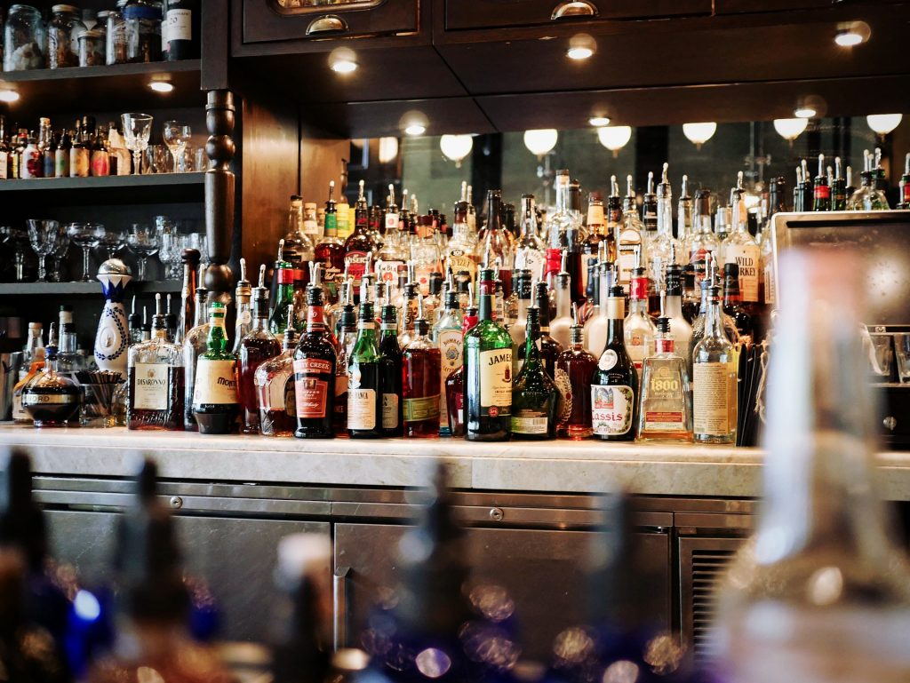 Alcohol in a Bar