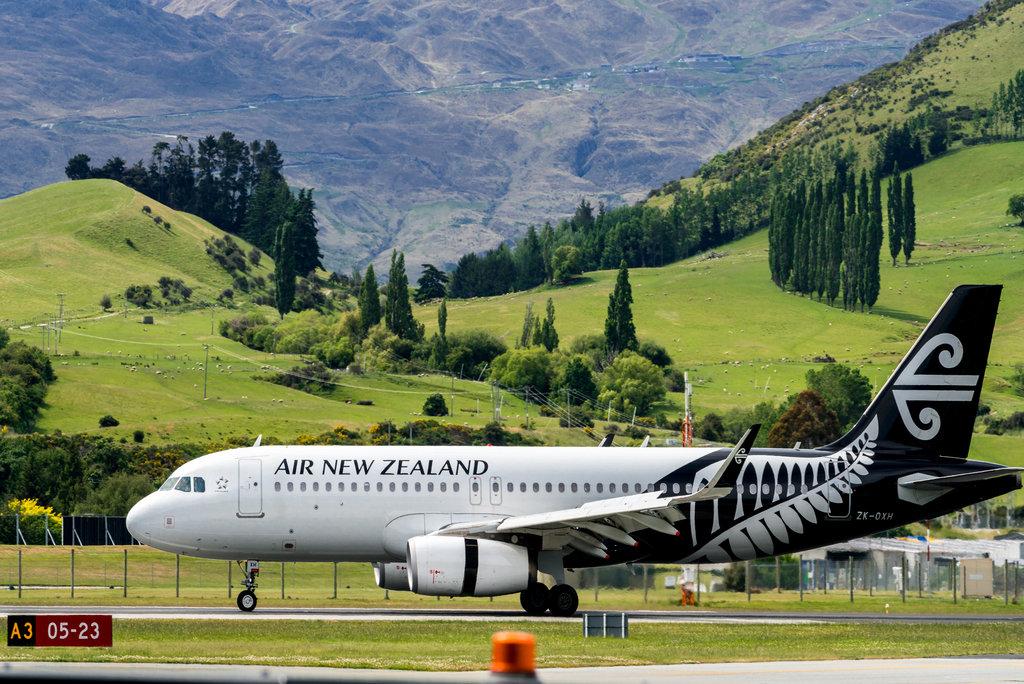 Queenstown Airport in New Zealand
