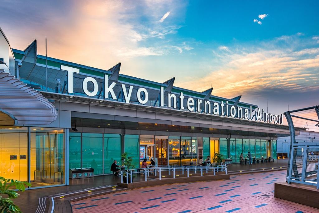 Airports in Japan - Tokyo Haneda
