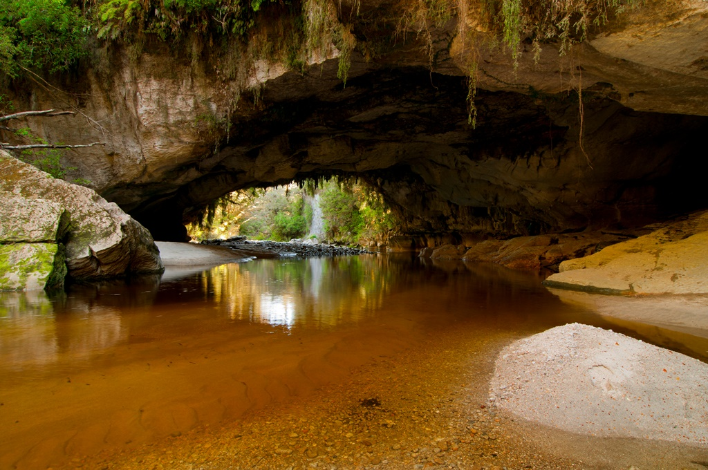 Oparara archway in Kahurangi National Park