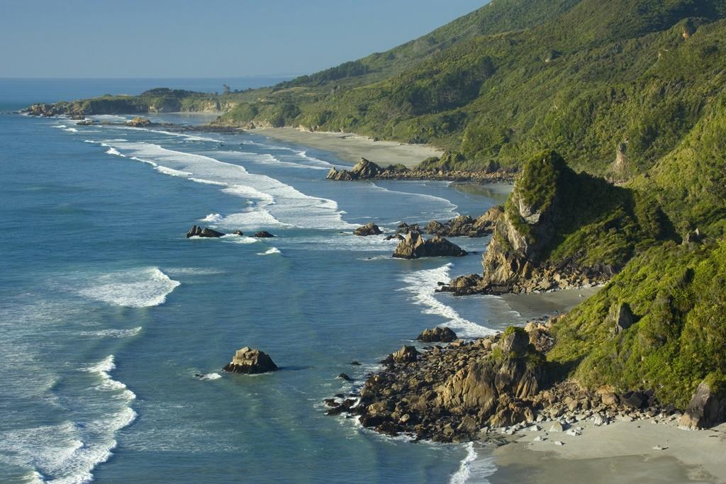 Paparoa coastline, Paparoa National Park, New Zealand