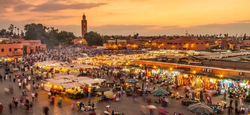 Jamaa el Fna market square, Marrakesh