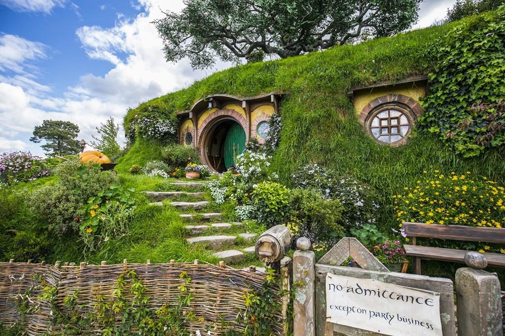 Hobbiton filmski set