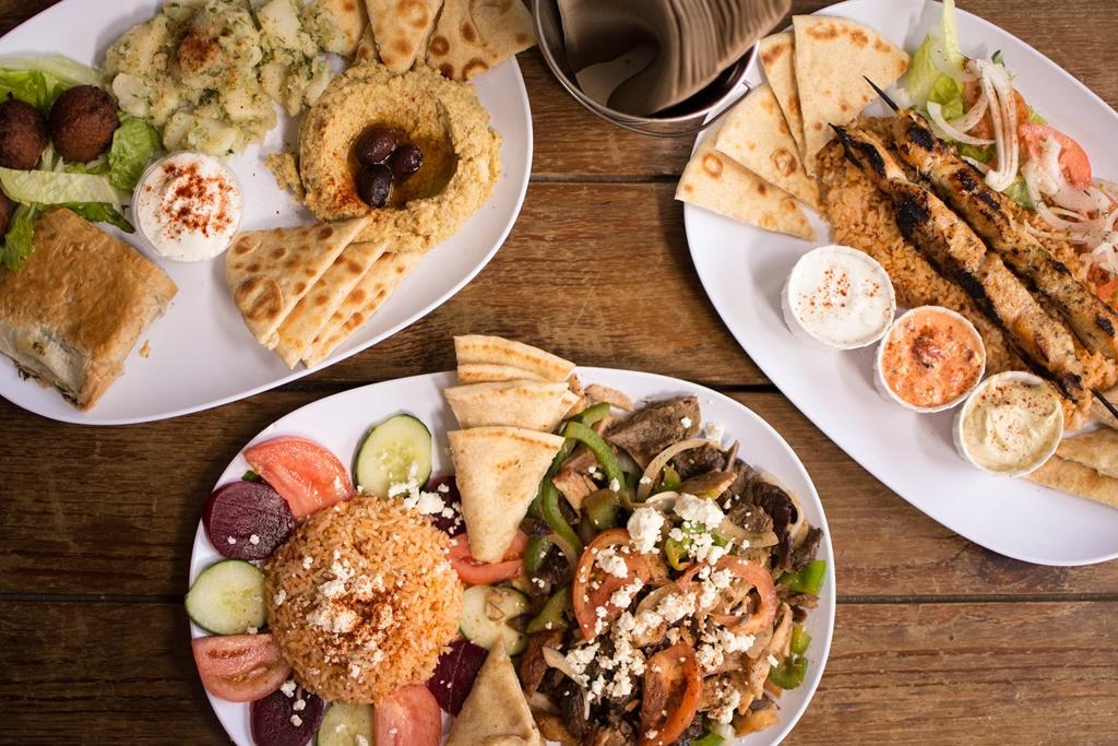 Tradycyjny grecki posiłek