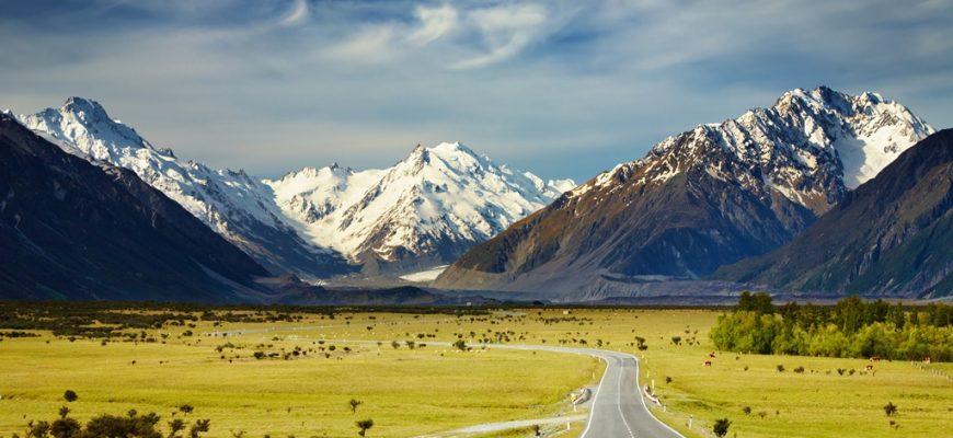 Južne Alpe Novi Zeland