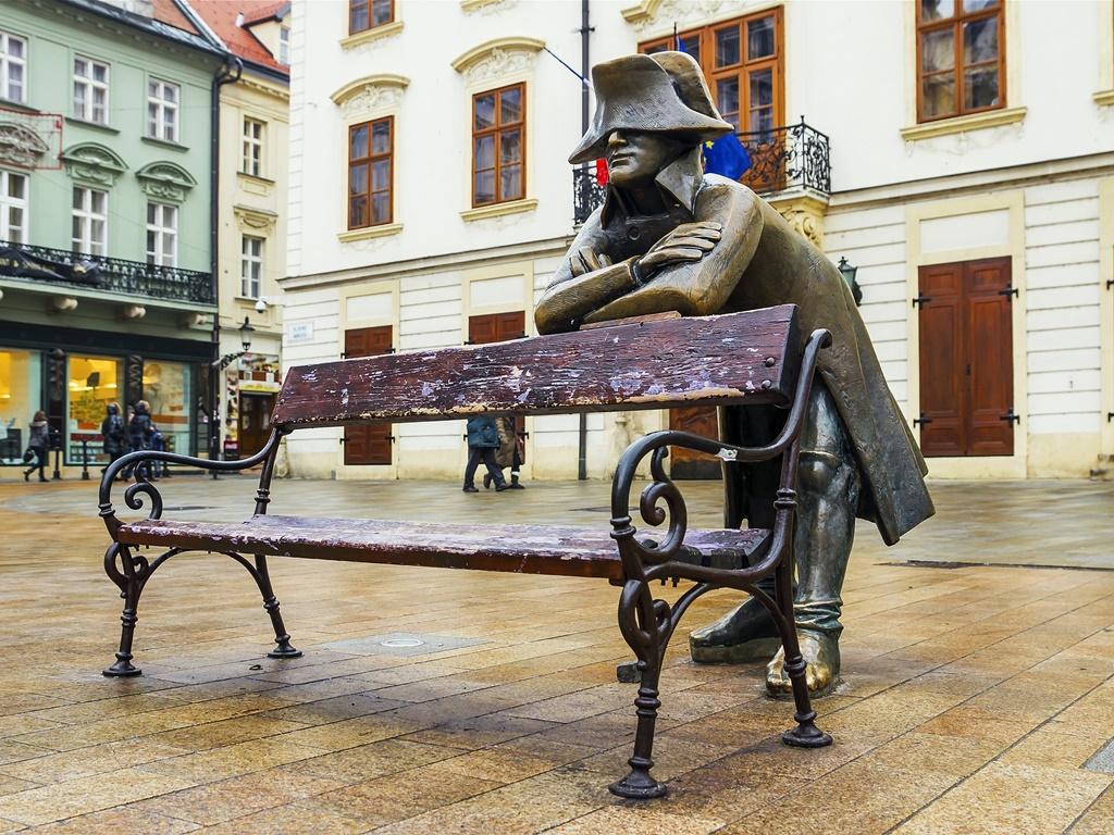 Bratislava bronze statues