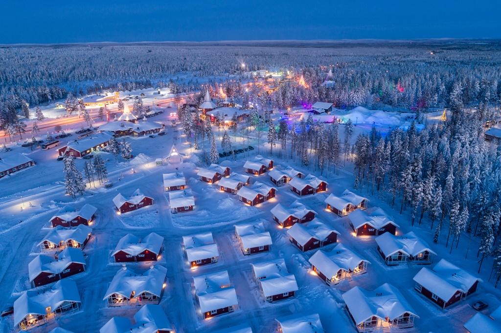 Villaggio di Babbo Natale a Rovaniemi