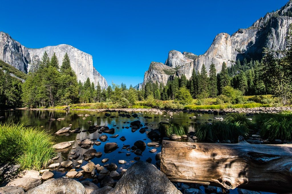 Yosemite National Parks in the USA