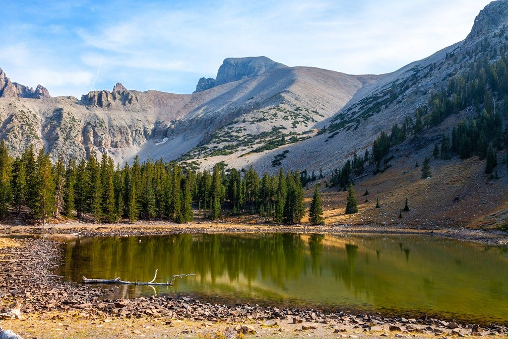 Alpine Loop trail in the Great Basin National Park