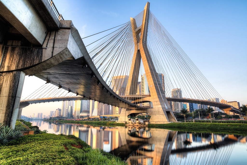 Estaiada Bridge, Sao Paulo