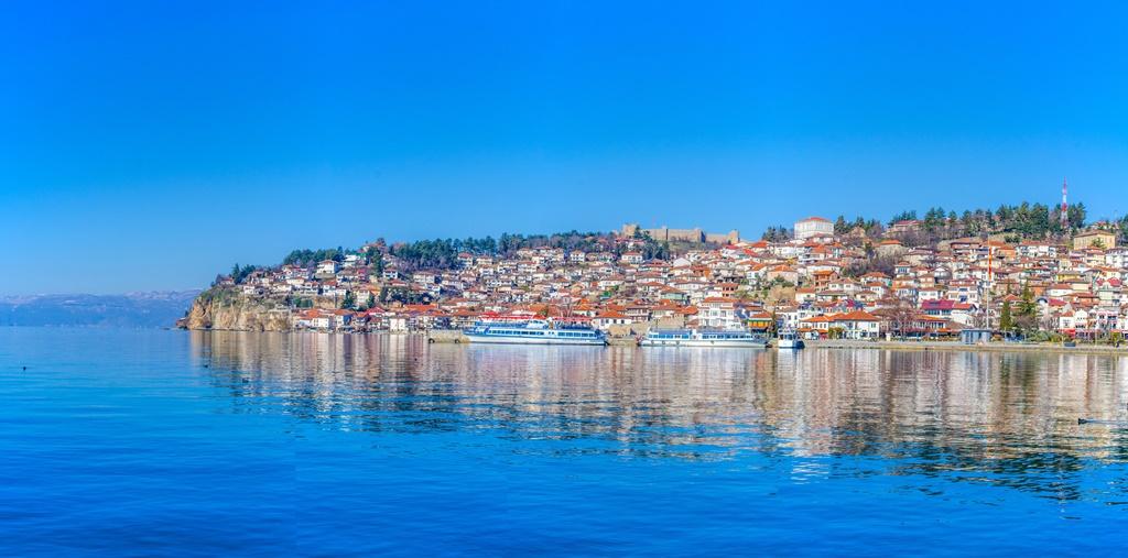 Vista di Ocrida