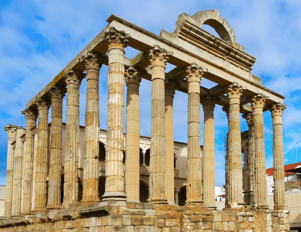 Il tempio di Diana a Merida