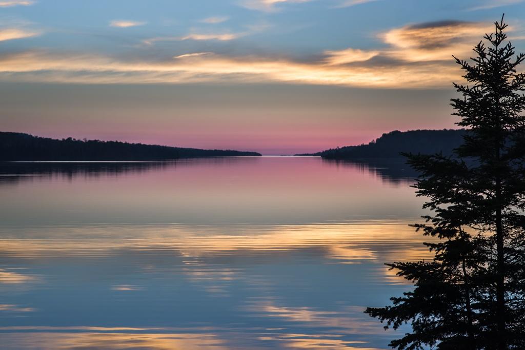Moskey Basin nel Parco nazionale di Isle Royale
