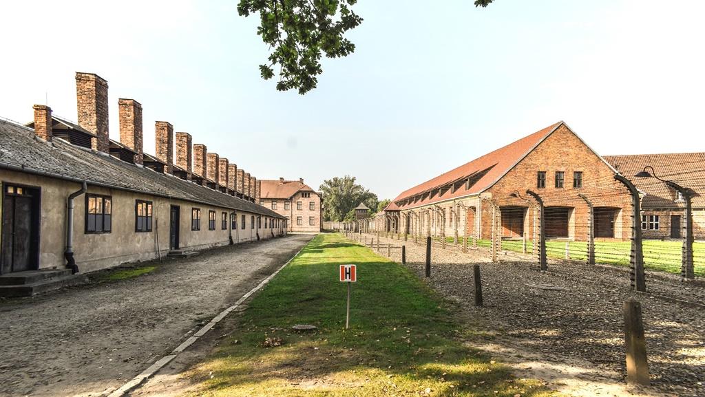 L'ex campo di concentramento di Auschwitz