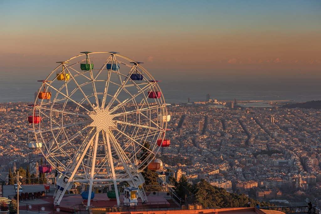 Best theme parks in Europe: Tibidabo