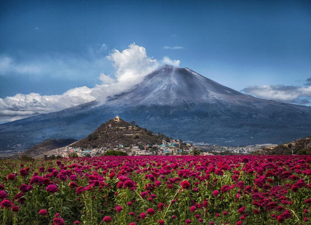 Vulkan Popokatepetl