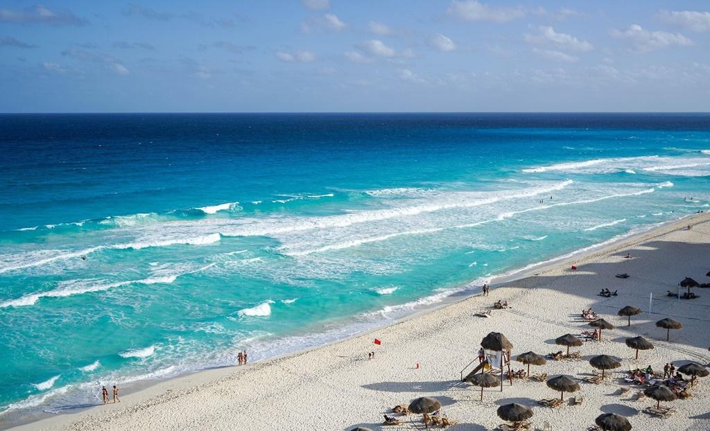 Plaža u Cancunu