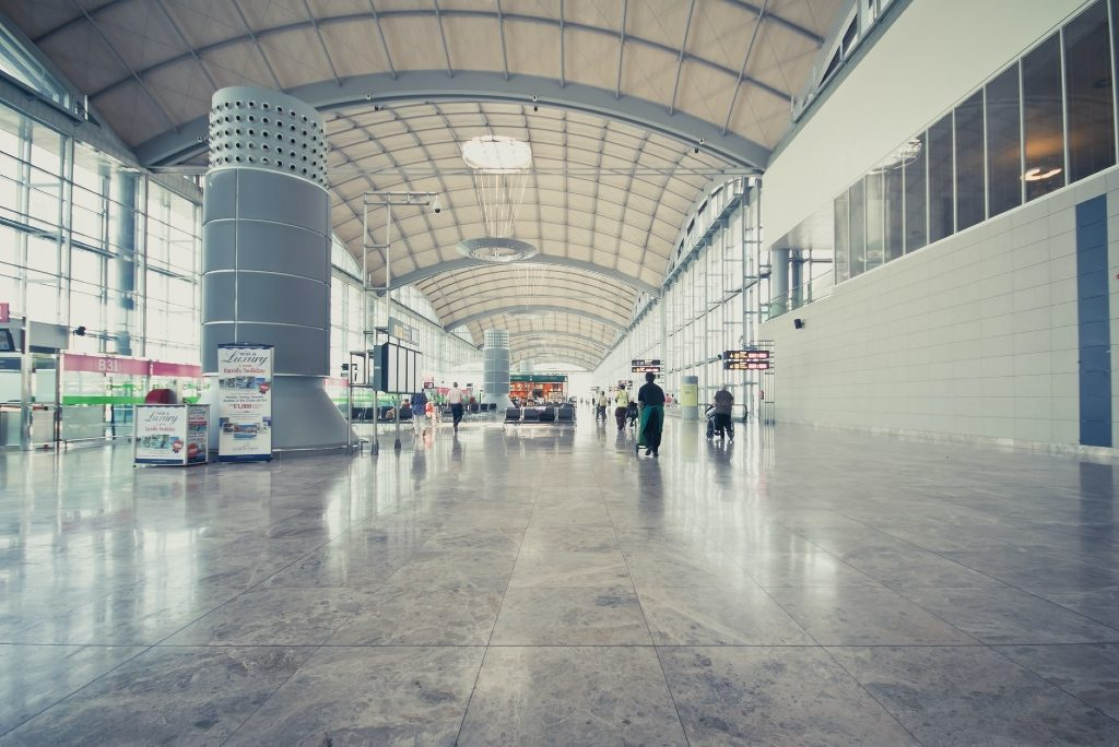 Alicante Elche Airport interior