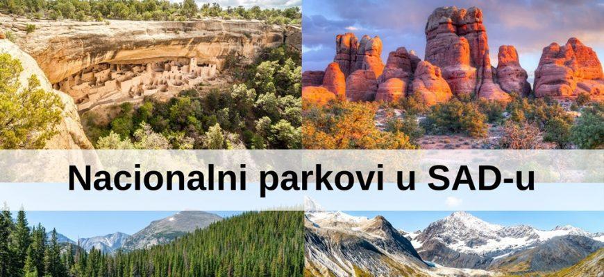 Nacionalni parkovi u SAD-u
