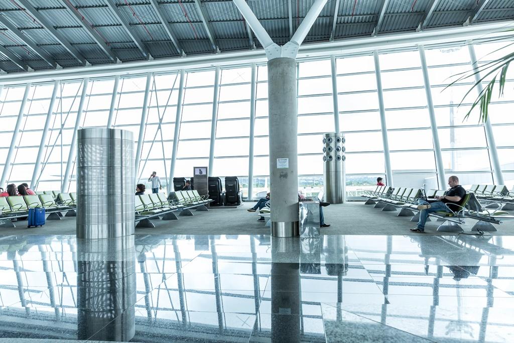 Flughafen Brasília in Brasilien