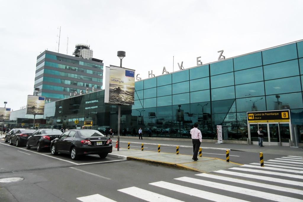 Internationaler Flughafen Jorge Chávez in Peru
