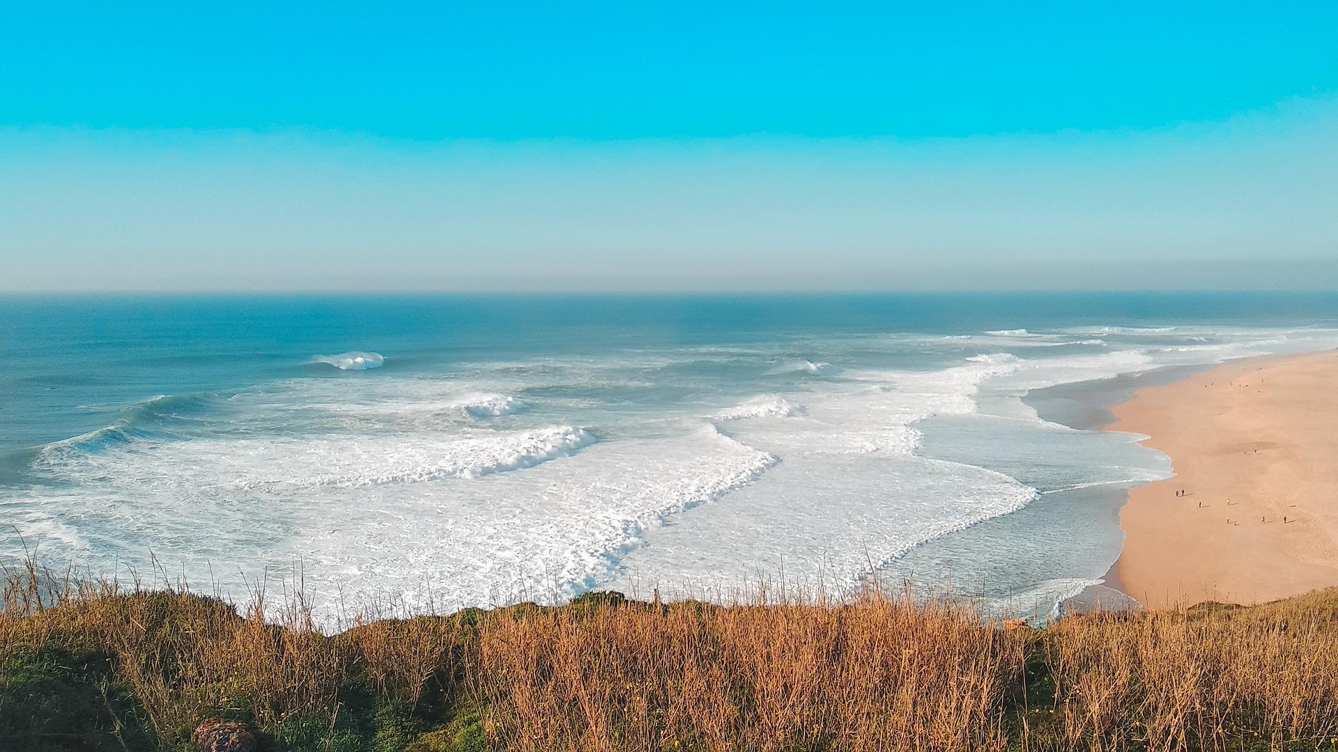 Najbolje plaže u Europi: plaža Nazare